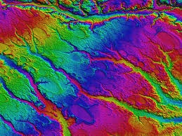 LIDAR DEM of carolina bay
