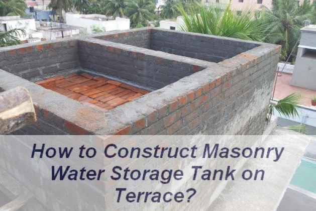How to Construct Overhead Masonry Water Tank? [PDF]