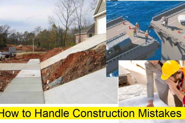 How to Handle Construction Mistakes at Site? [PDF]