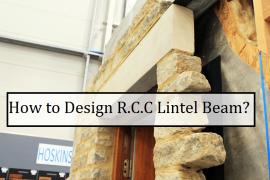 How to design an RCC Lintel Beam as per Indian Standards? [PDF]