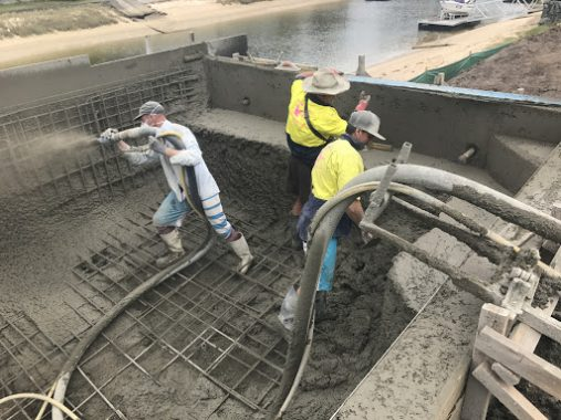 Concreting in Swimming Pool Construction