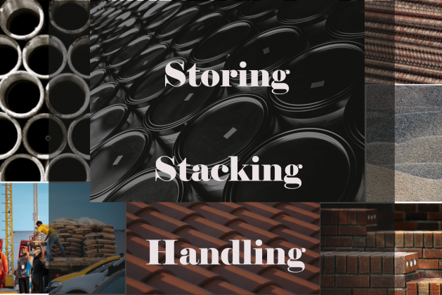 How to Store, Stack, and Handle Construction Materials? [PDF]