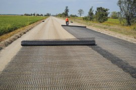 How to Lay Geosynthetic Fabric in Highway Construction? [PDF]