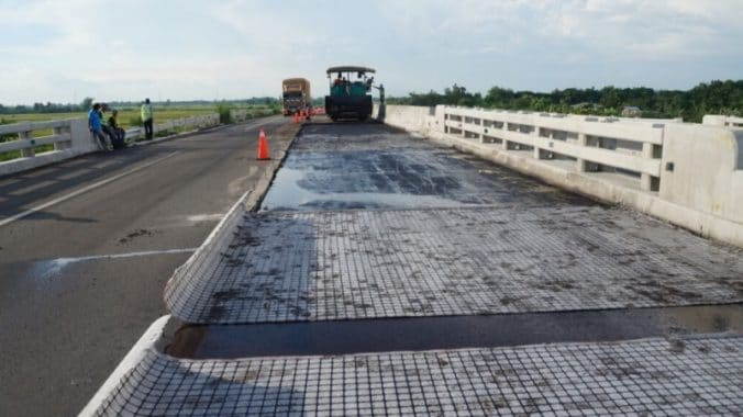 Laying of Geosynthetics in Highway Construction