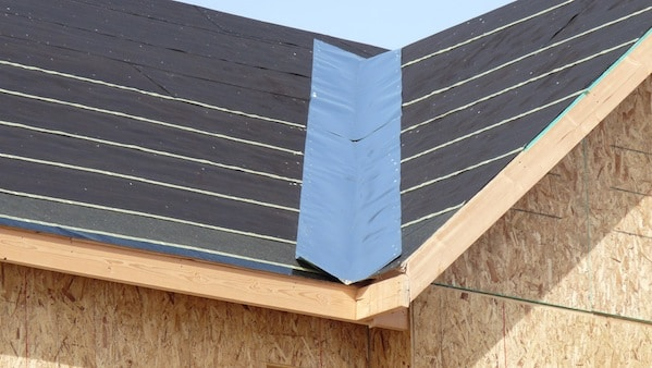 Valley and Flashing of Galvanized Steel Sheet Roofing