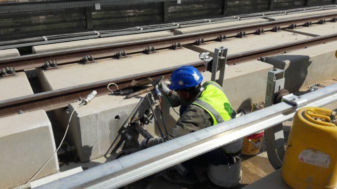 Construction of Third Rail Dowels