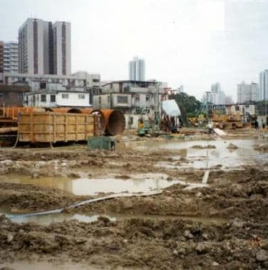 Adverse Weather Condition on Excavation Process