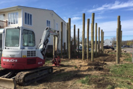 How to Drive Timber Piles into Ground? [PDF]