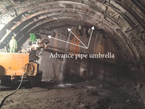 Use of umbrella technique to reduce the risk of sudden collapse.