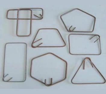 Steel ligatures having different shapes